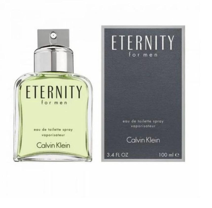 TESTER(O)Calvin Klein Ck Eternity Eau de Toilette for Men 100ml