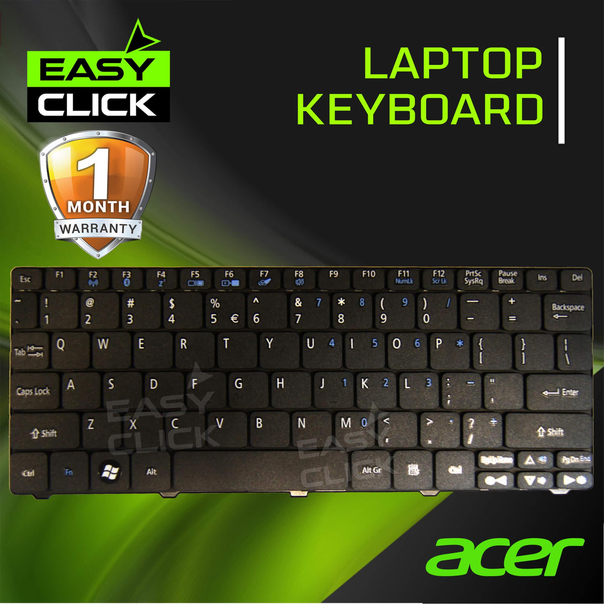 Product details of Laptop Acer Keyboard Aspire One D255 D255E D257 D260 D270 521 522 533