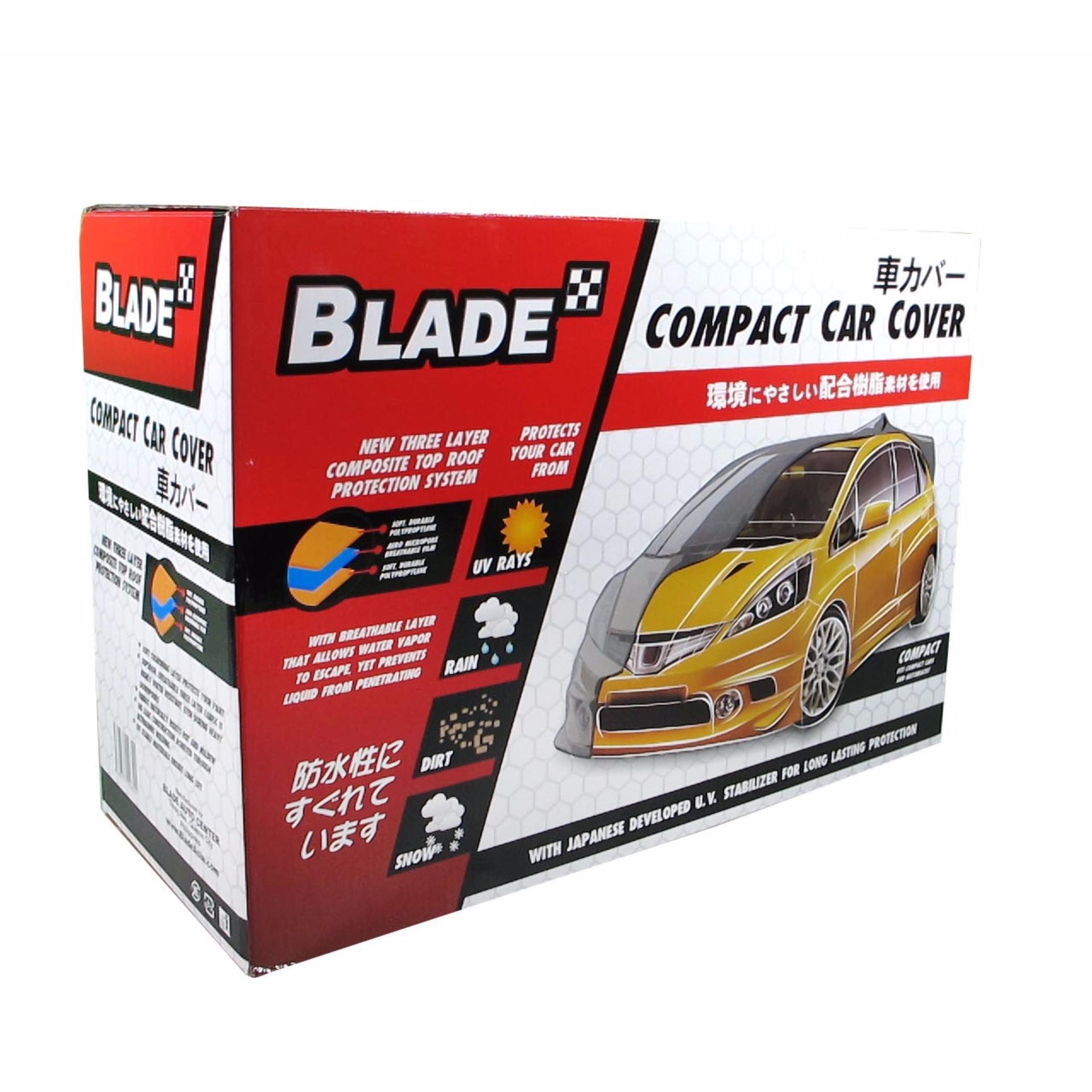 Blade Car Cover Hatchback Grey (Indoor)