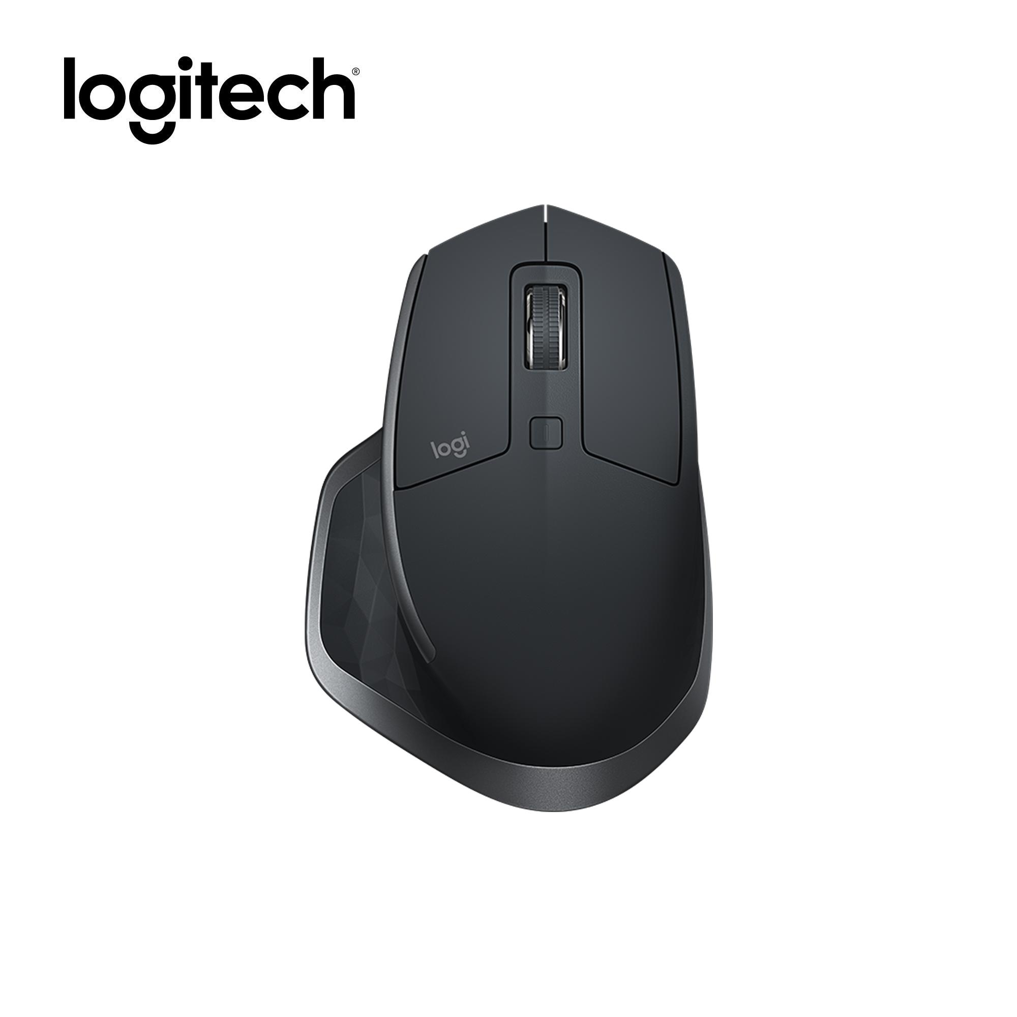 Logitech MX Master 2S Multi Device Wireless Mouse for Power Users, Logitech Flow, 4000 dpi Darkfield precision sensor, Hyper-efficient Scrolling, Unifying receiver, Bluetooth, 10m wireless range, 2.4Ghz connection, Micro-USB cable for recharging