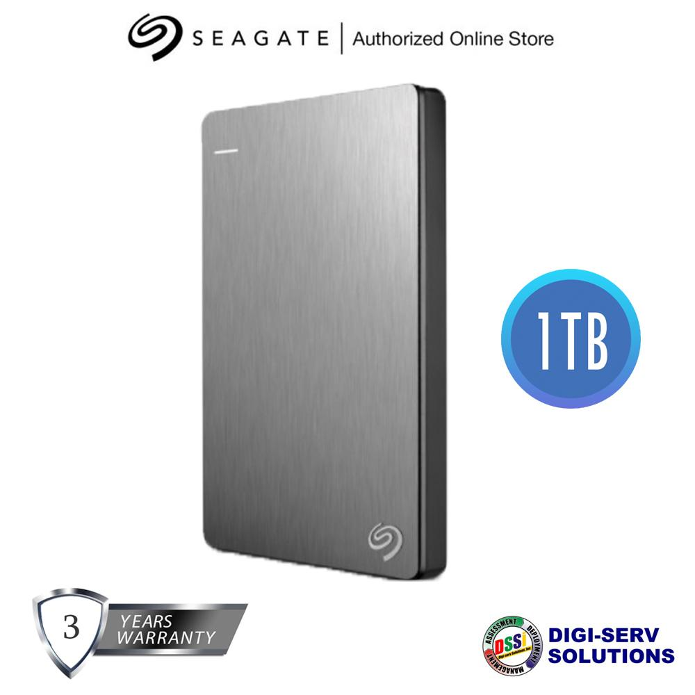 Seagate Backup Plus Slim 1tb Gold Portable External Hard Drive Usb Expansion 30 For Pc Mac And Mobile Devices With 3 Years Warranty Lazada Ph