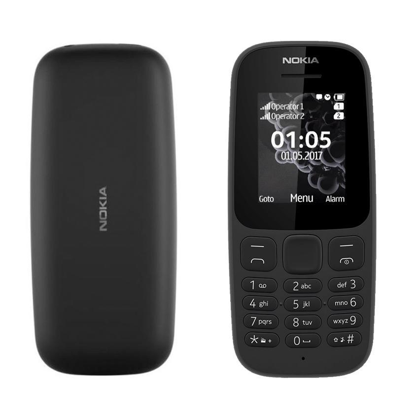 Nokia 105 2017 Dual SIM (Black)