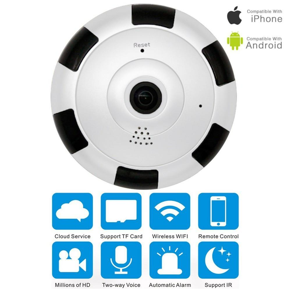 360 Deg V380 Panoramic Camera HD 960P Wireless Wifi IP Camera Home Security Surveillance System