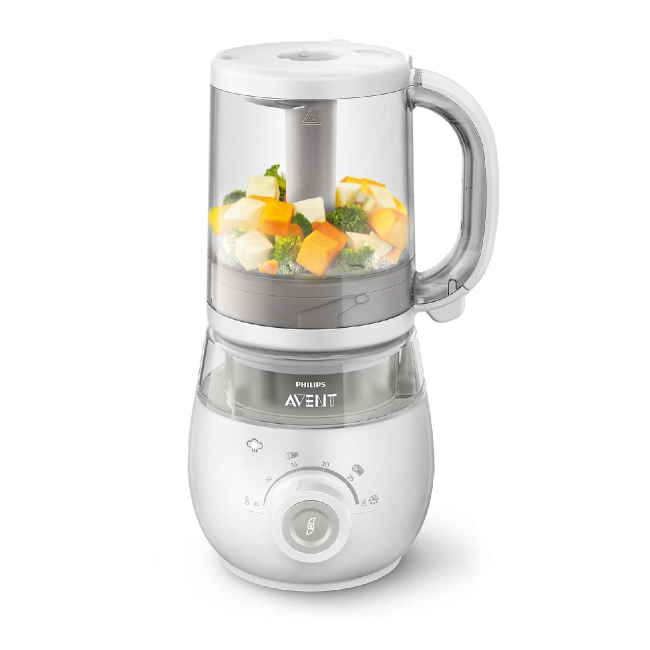 PHILIPS AVENT 4 In 1 Healthy Steam Mealmake image on snachetto.com