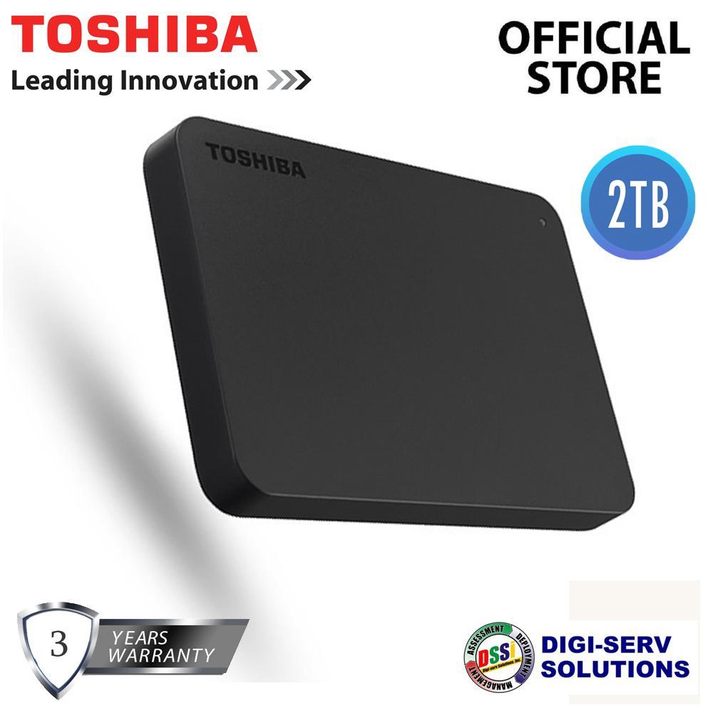 2c95ac267d4c Product details of Toshiba Canvio Basics (new) 2TB USB 3.0 Portable  External Hard Drive (Black), Super Speed Slim Storage with 1 YEARS WARRANTY