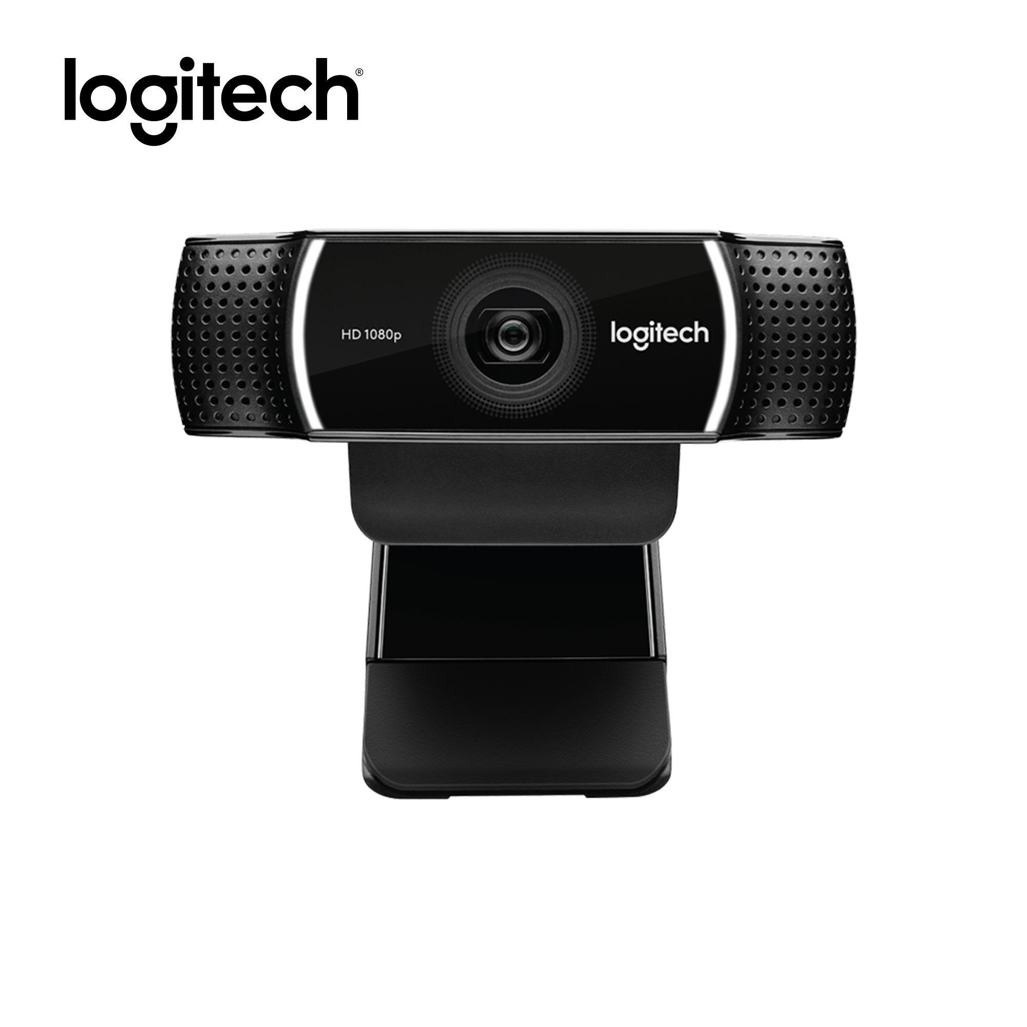 Logitech C922 Pro Stream HD Webcam with 30fps at 1080p & Autofocus, Full  Stereophonics, Free 3 month XSPLIT Premium License, 5ft cable length, Tripod