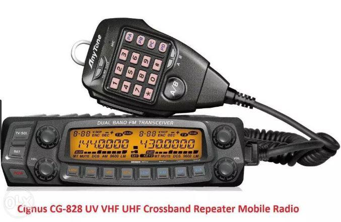 Cignus CG-828 UV Crossband Repeat Mobile Base Radio