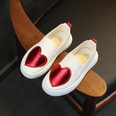 Kiểu Hàn Quốc Trái Tim Rỗng Một Đôi Giày Giày Trẻ Em