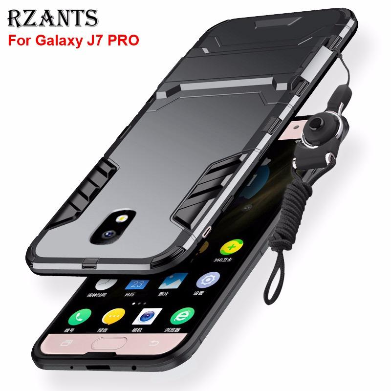 separation shoes d1005 ba186 Rzants For Samsung Galaxy J7 Pro Case with Lanyard [Armor Series]  Shockproof Kickstand Hard Back Cover