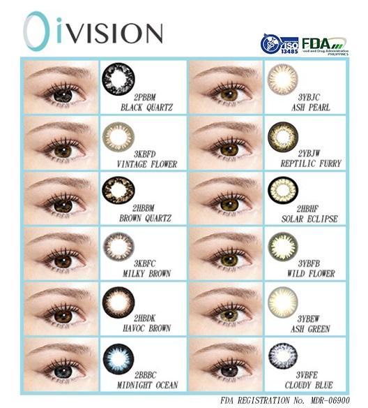 8bda9ac5357 O i-vision Contact lense ( Cloudy Blue)