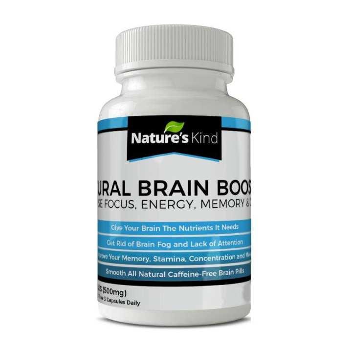 Natural Brain Booster Nootropics Increase Focus Energy Memory