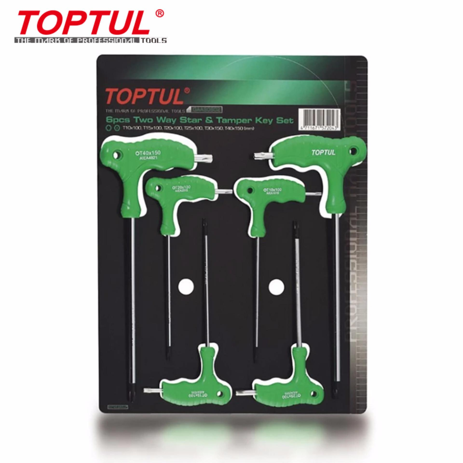 Toptul GAAS0602 Key Wrench Set