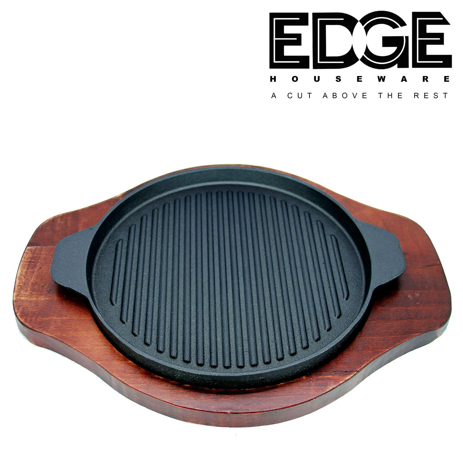 Edge Houseware Sizzling Plate Round 24CM Catering Restaurant buffet