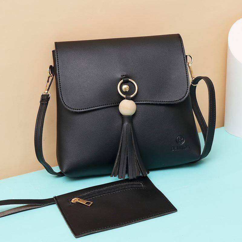 XUEBAMI Yuna Pi Korean Sling Bag 2 in 1