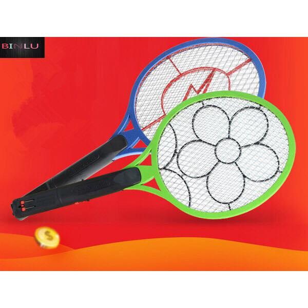 Rechargeable Electronic Mosquito Bat Swatter BINLU image on snachetto.com