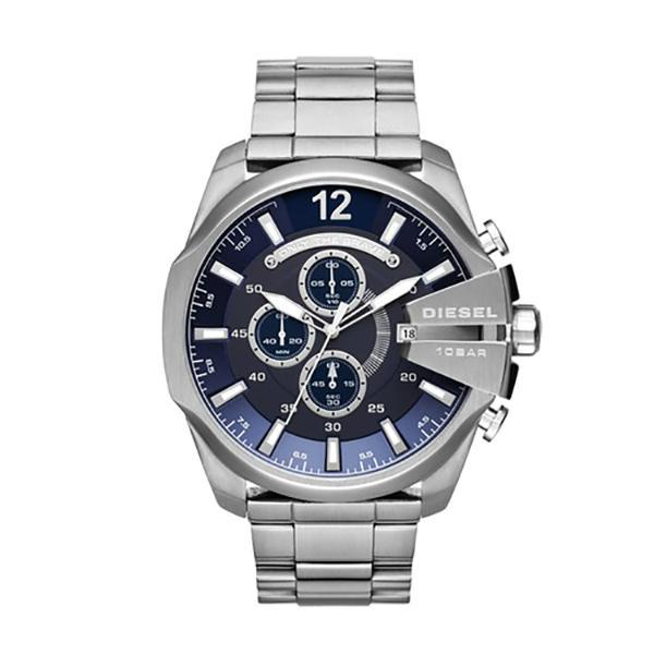 51db5f9ab Product details of Diesel Mega Chief Chronograph Date Blue Dial St.steel  Men's Watch DZ4417