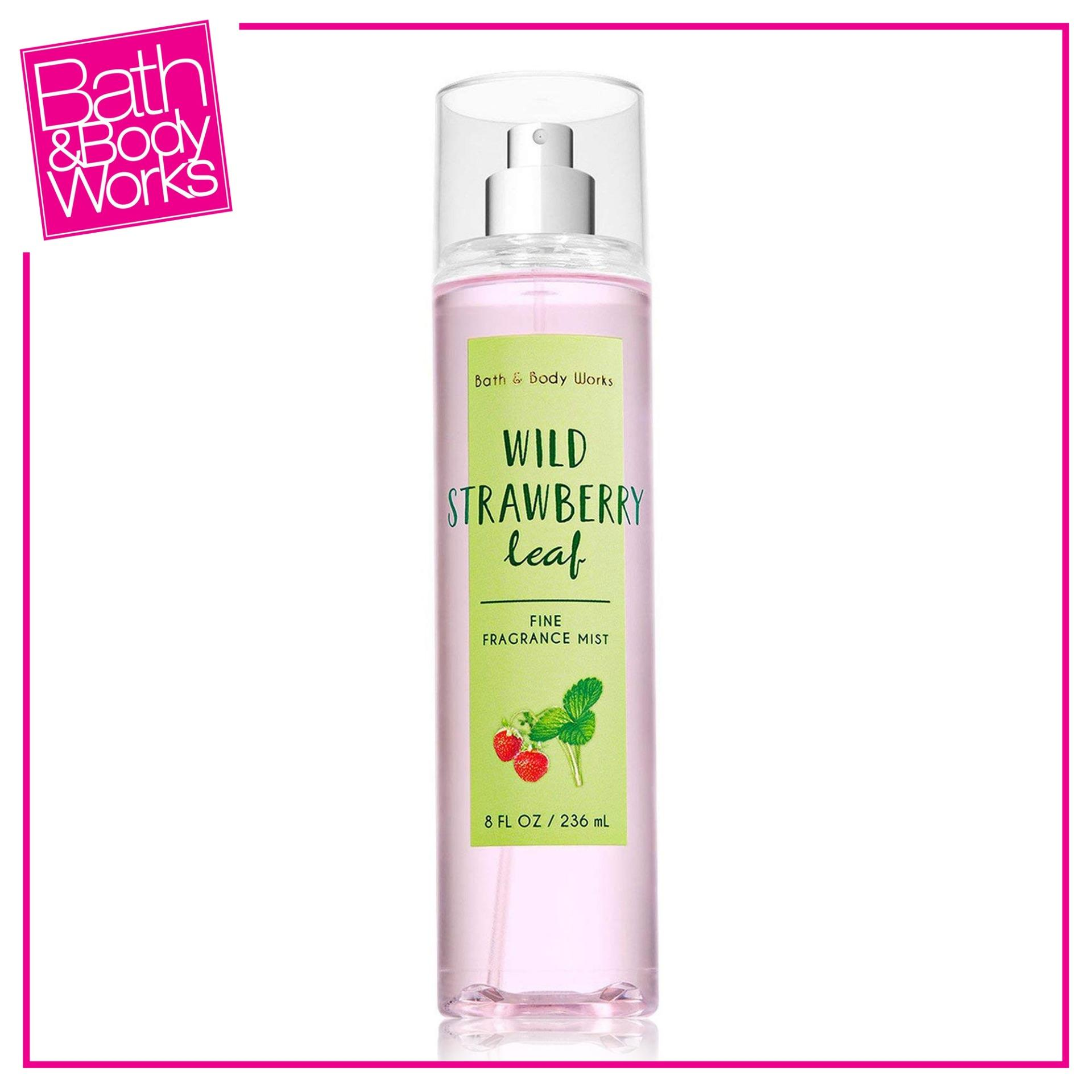 Bath & Body Works Fine Fragrance Mist Wild Strawberry Leaf 236ml