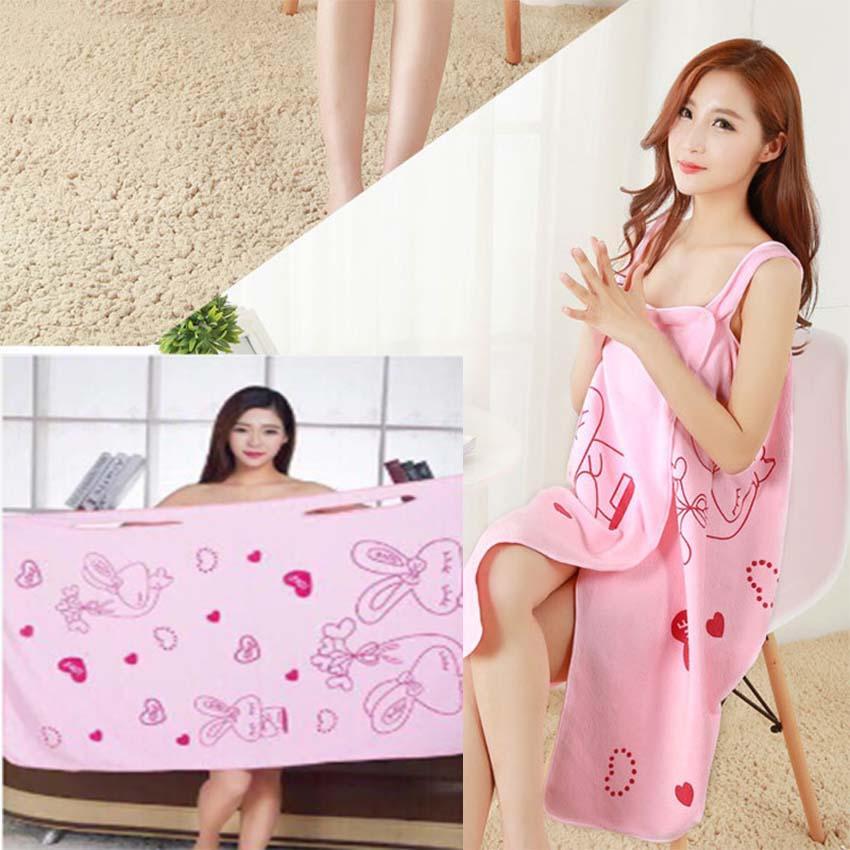 LuckyHome Microfiber Towels Bath Robes Magic Bath Towels  e56cee52c