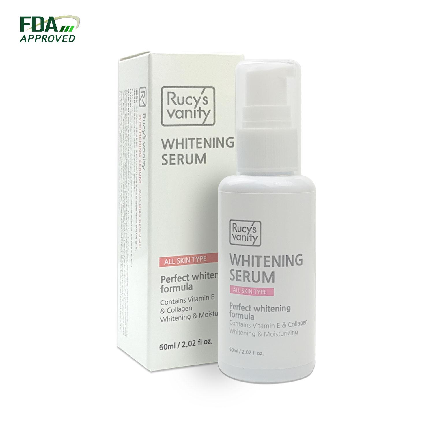 Rucy's Vanity Korean Cosmetics Whitening Serum 60ml