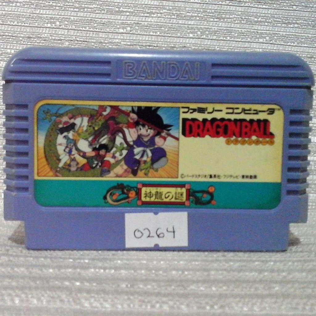Dragon Ball: Shenron no Nazo Nintendo Famicom Family Computer / NES Video Game Japan