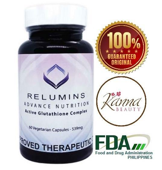 RELUMINS 6X GLUTATHIONE COMPLEX 60 capsules