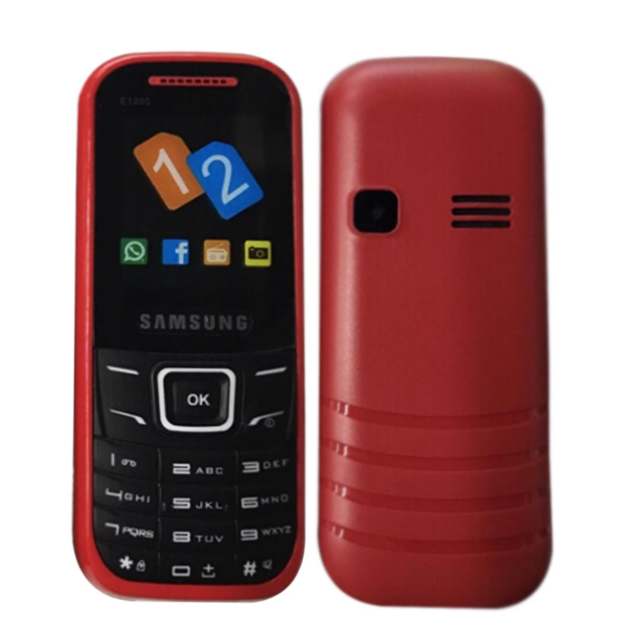 Sam-Sung E1205 Keypad Mobile Phone
