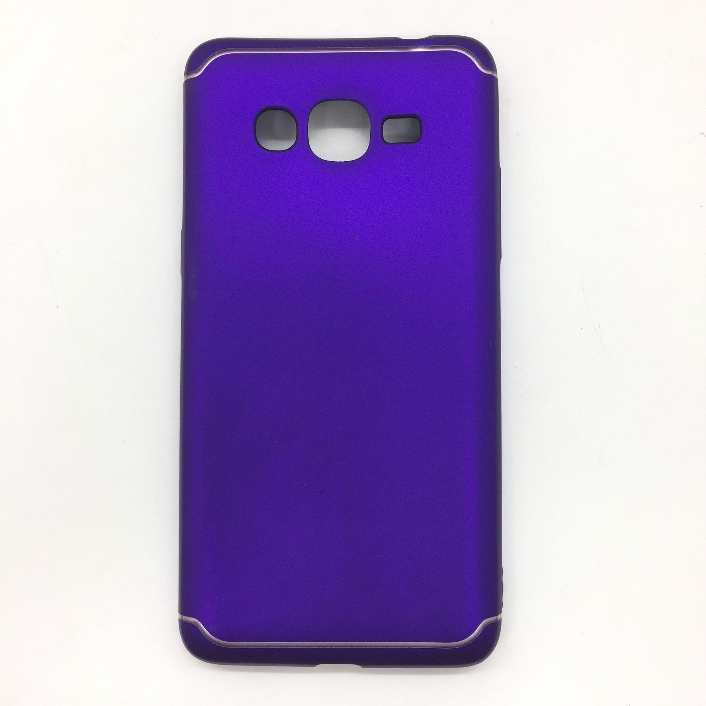 TPU Electro Plated Case For Samsung Galaxy J2 Prime Violet