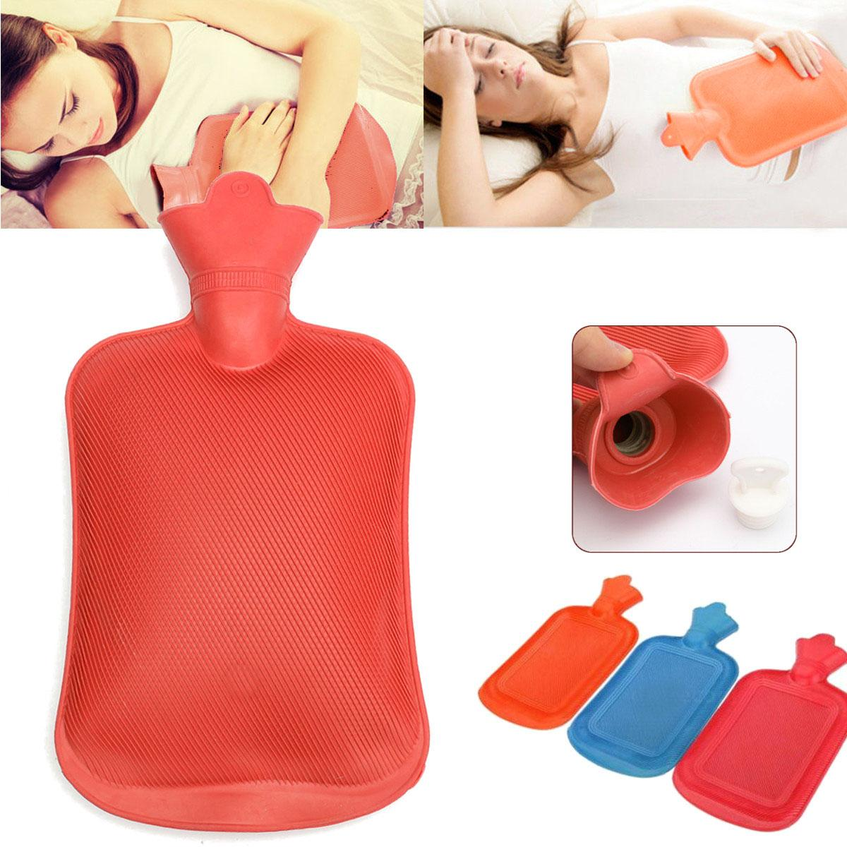 Hot Water Bottle 2.2L for Hot or Cold Compress image on snachetto.com