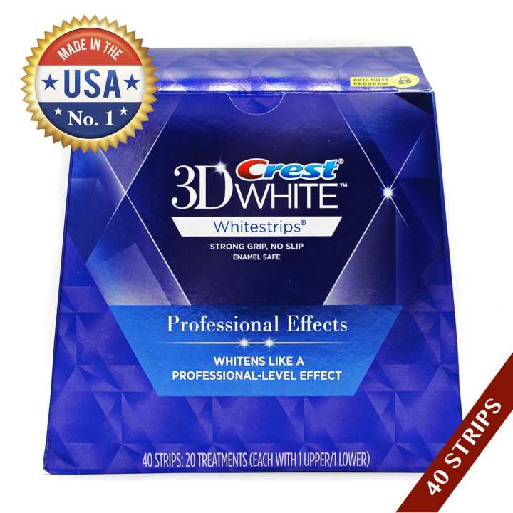 Crest 3D White Whitestrips Professional Effects Teeth