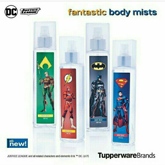 Justice League The Flash Body Mist 250 mL