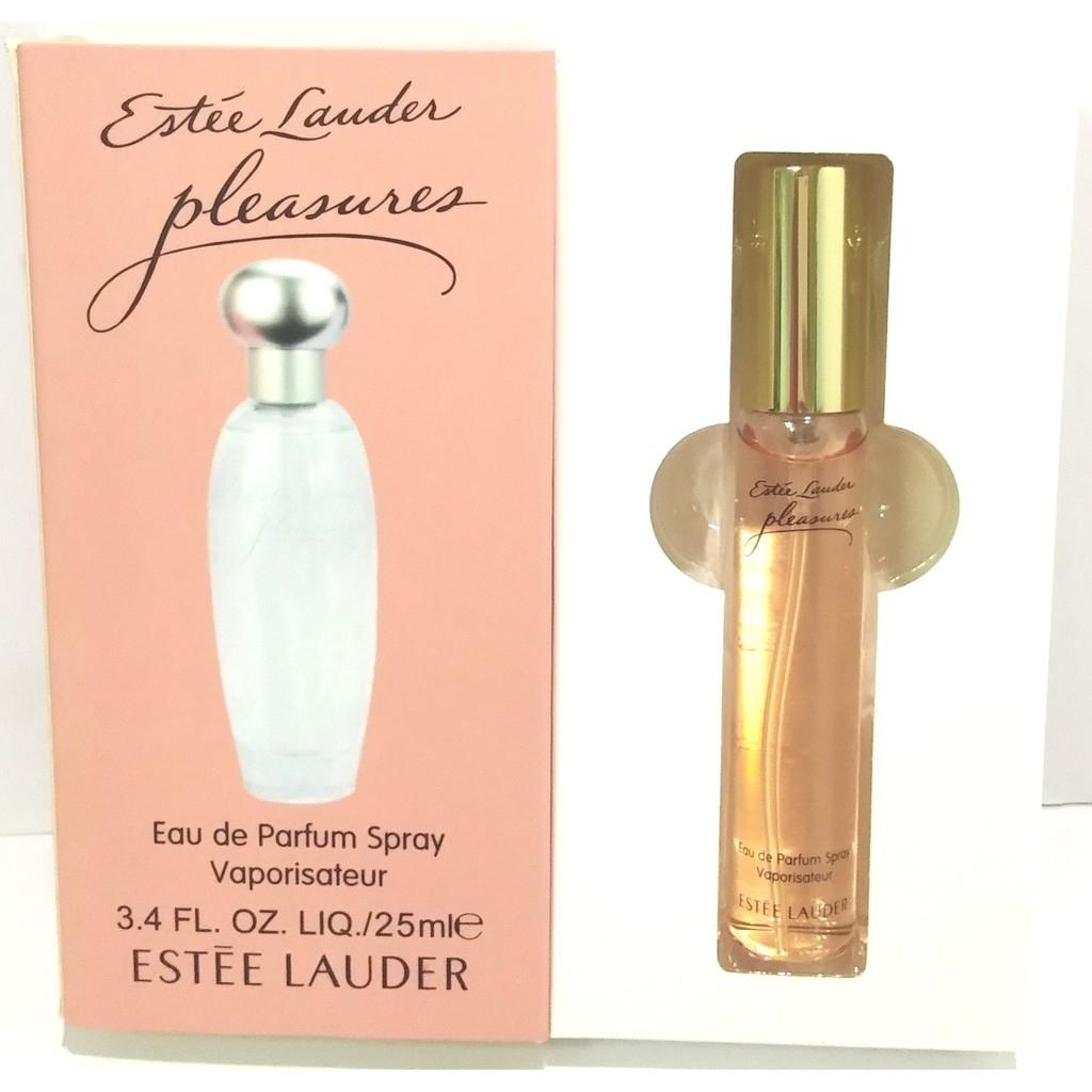 25ml Estee Lauder Pleasures edt natural spray