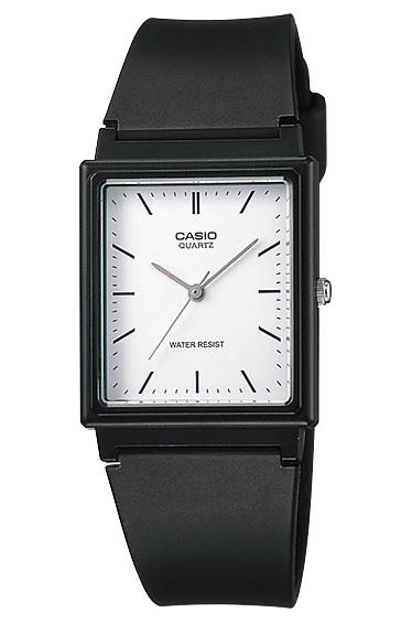 Casio Analog Men`s Black Resin Strap Watch MQ-27-7EDF