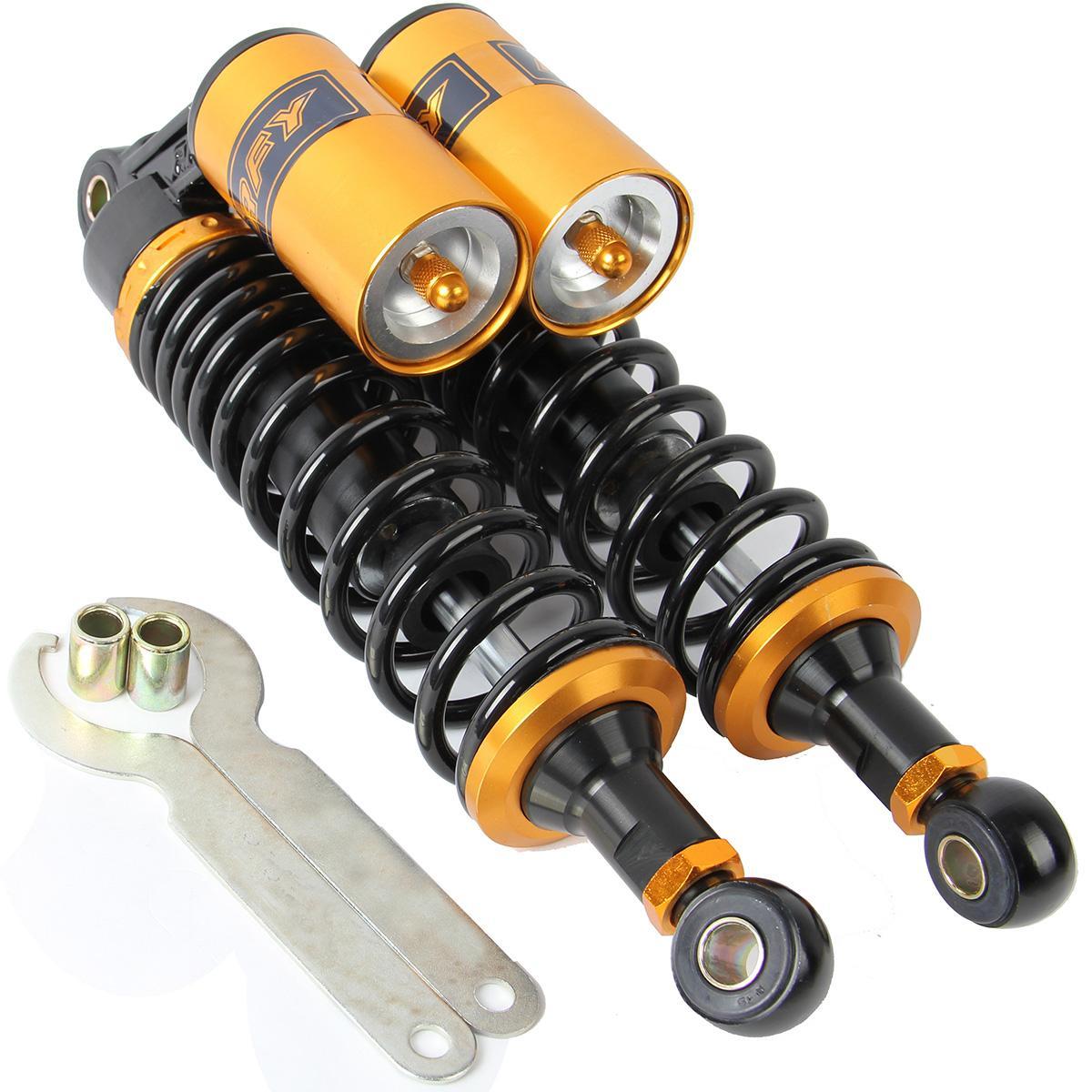 320mm 12.5'' Motorcycle Rear Air Shocks Absorbers ATV for Honda CBR CR CM BMW
