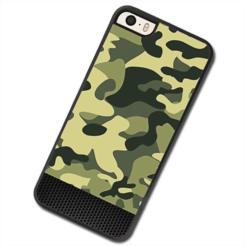 Camouflage color Phone Case For Apple iPhone 5c - intl