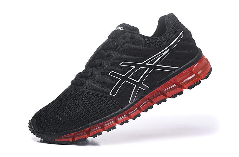"""new style 75a40 3e132 Asics Official """"ONITSUKA TIGER"""" 360 GEL QUANTUM 360 2's Black Red MEN  Running Shoe High Quality"""