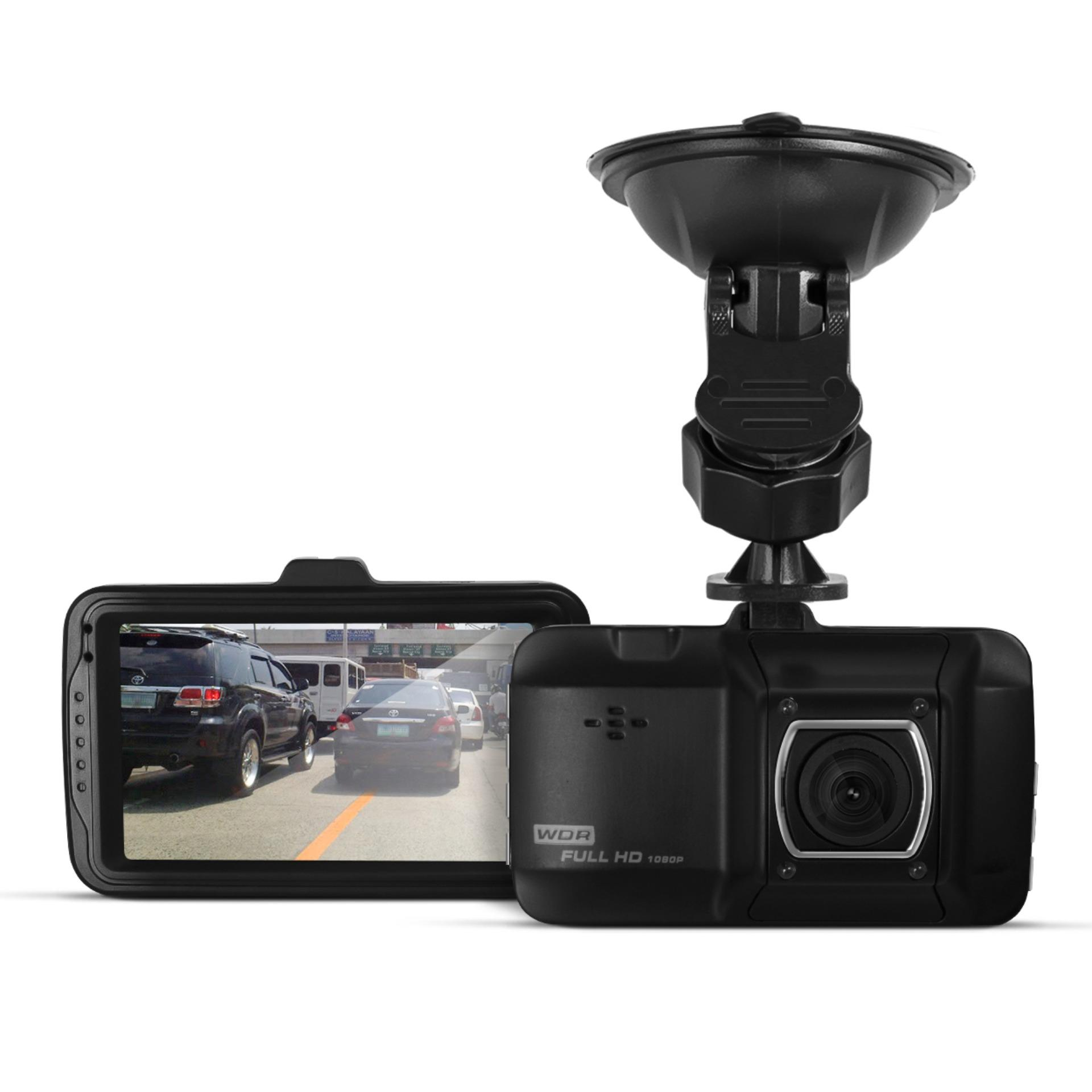 DS101 Vehicle Black Box Dashboard Camcorder Full HD 1080p (Black)