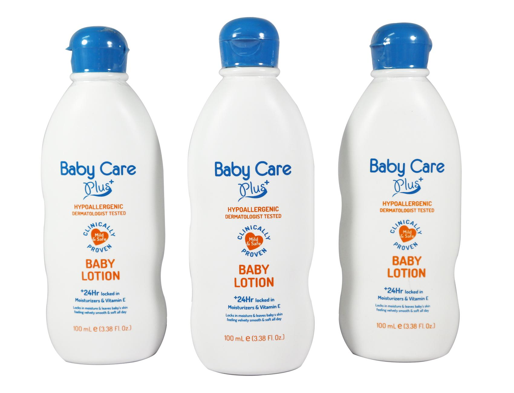 Baby Care Plus Baby Lotion Set of 3 100mL