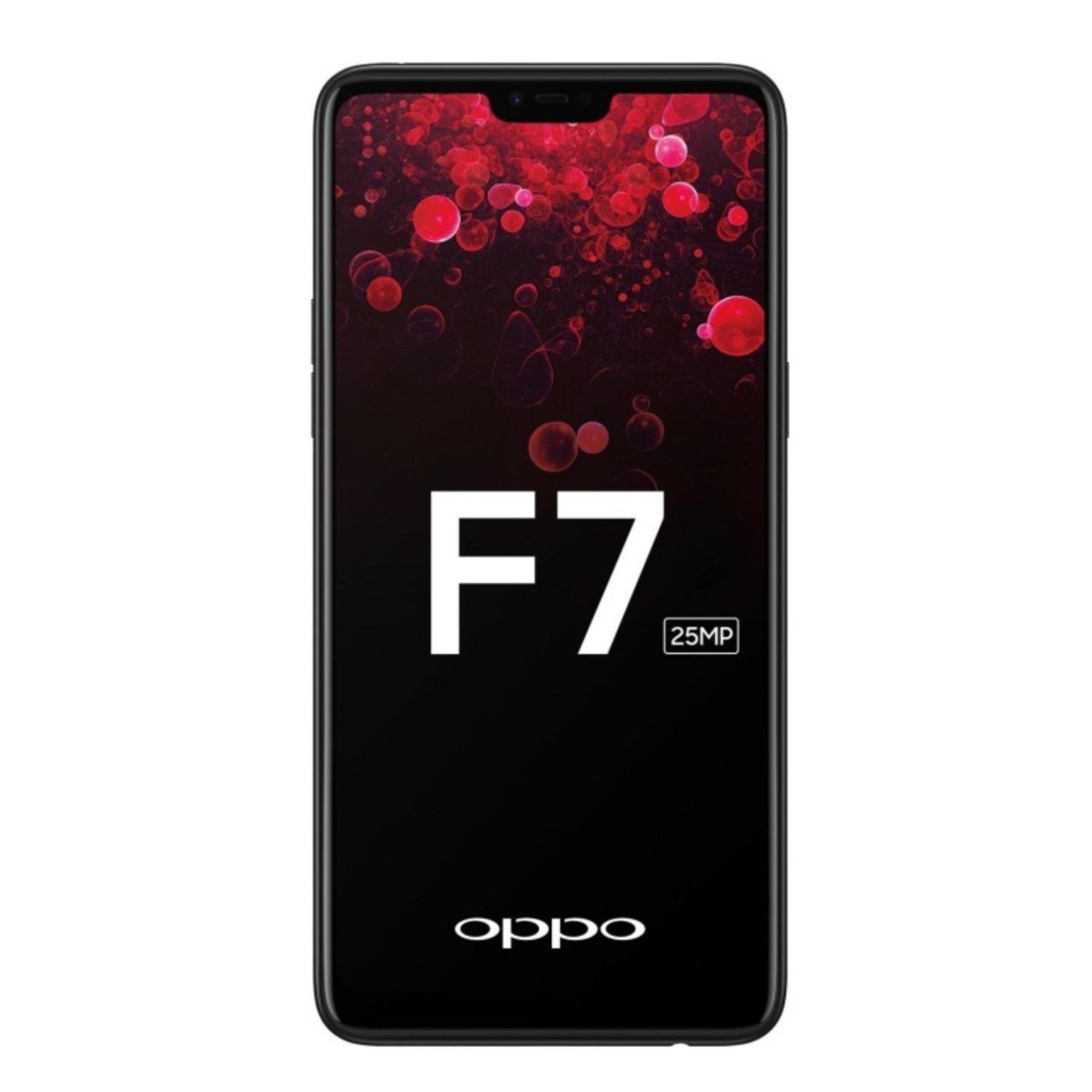 Oppo F7 64GB+4RAM Dual Sim (Diamond Black)