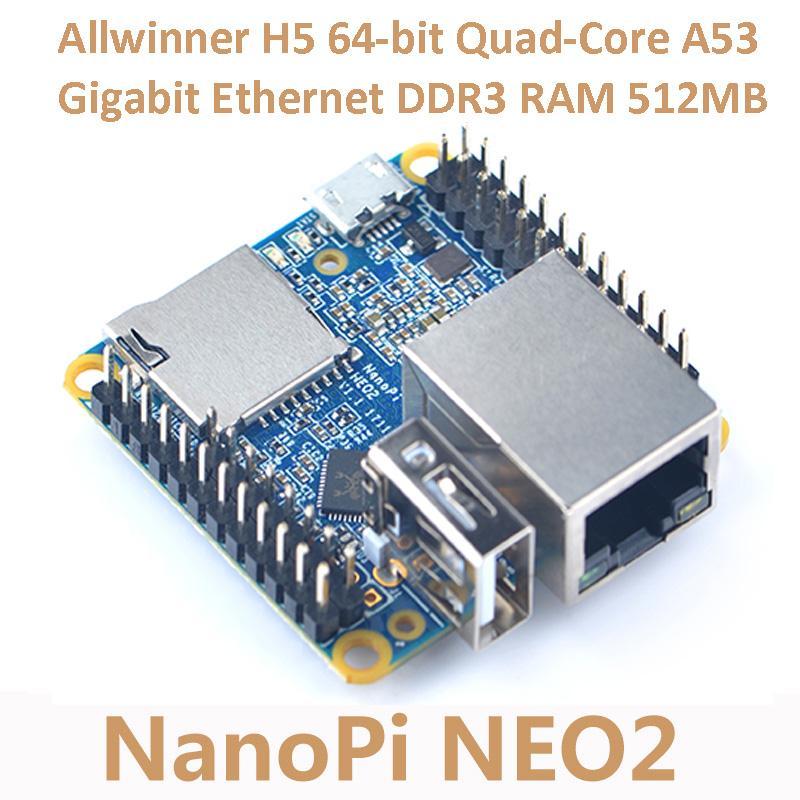 NanoPi Allwinner A64 Development Board Quad-Core Cortex-A53 Onboard