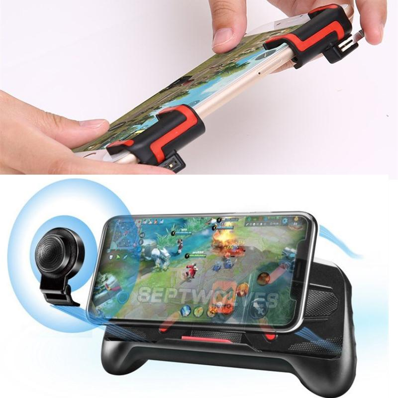 Cellphone Game Movement Controlling Handle Cellphone Holders A89 With Game Handler Mobile Shooting MX