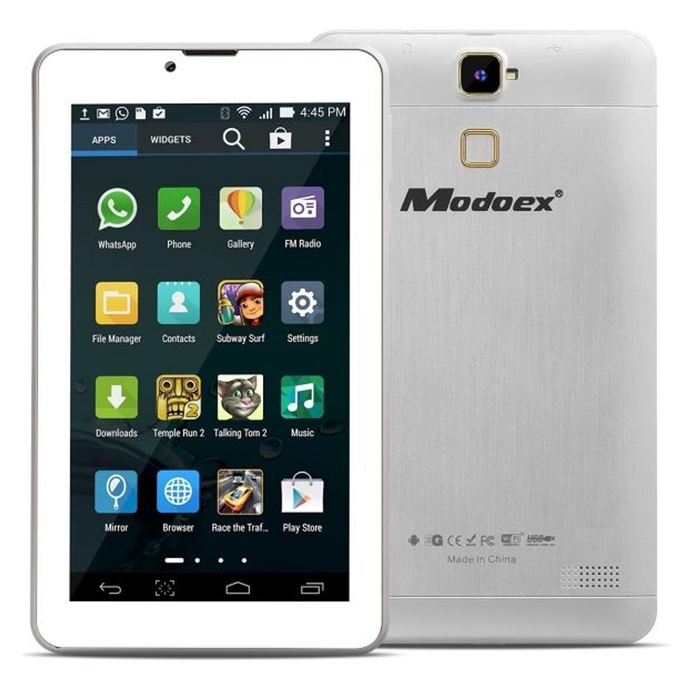 Modoex M66 7inch Dual Core Cellular Tablet pc (White)