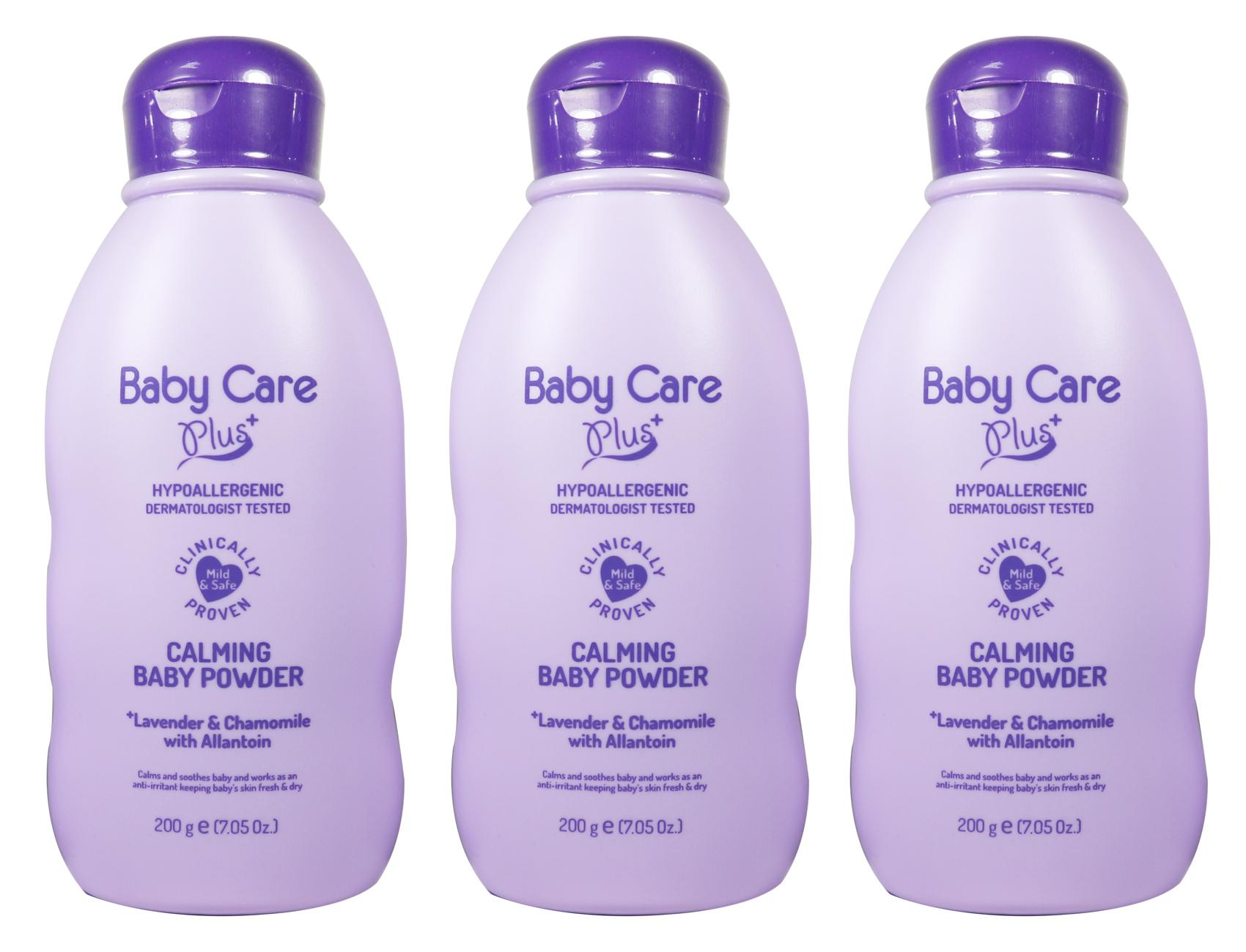 Baby Care Plus Calming Baby Powder Set of 3 200g