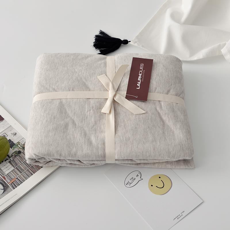 Rắn Bông Dệt Kim 100% Cotton Bông Thiên Trúc Duy Nhất Hai Người Ký Túc Xá 1.8 M Ga Bọc Đệm Ga Trải Giường Đơn Chiếc 100% Cotton Trên Giường Cung Cấp