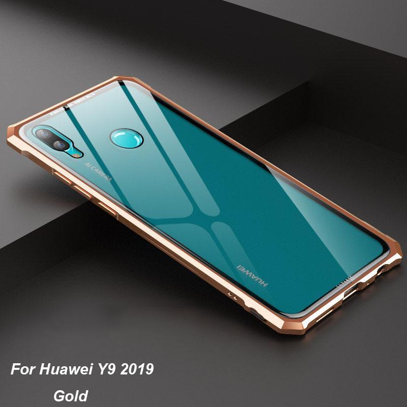 50241bf509 For Huawei Y9 2019 Hard Tempered Glass Shockproof Slim Metal Frame Case  Cover | Lazada PH