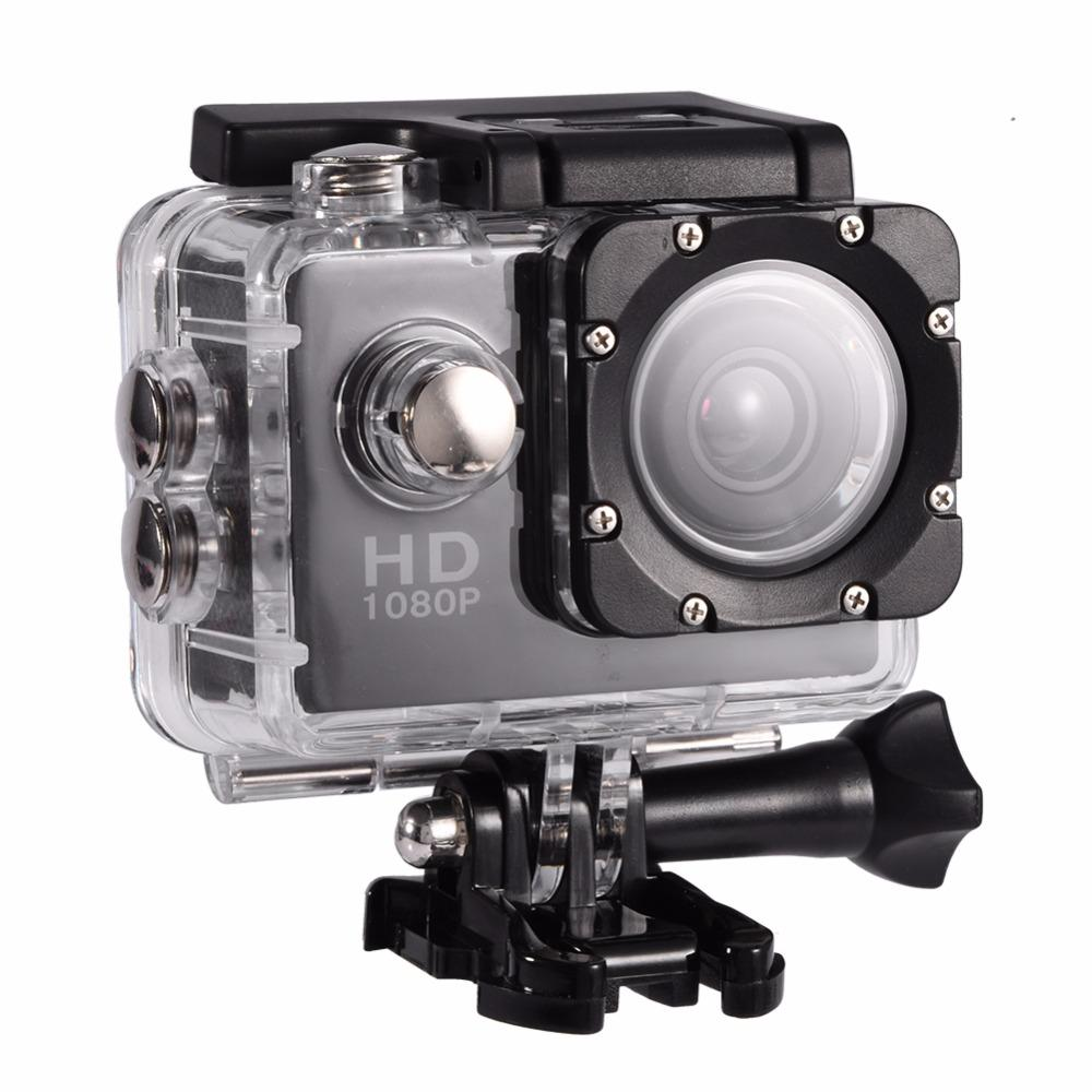 Waterproof outdoor sports DV action camera video camera (black)