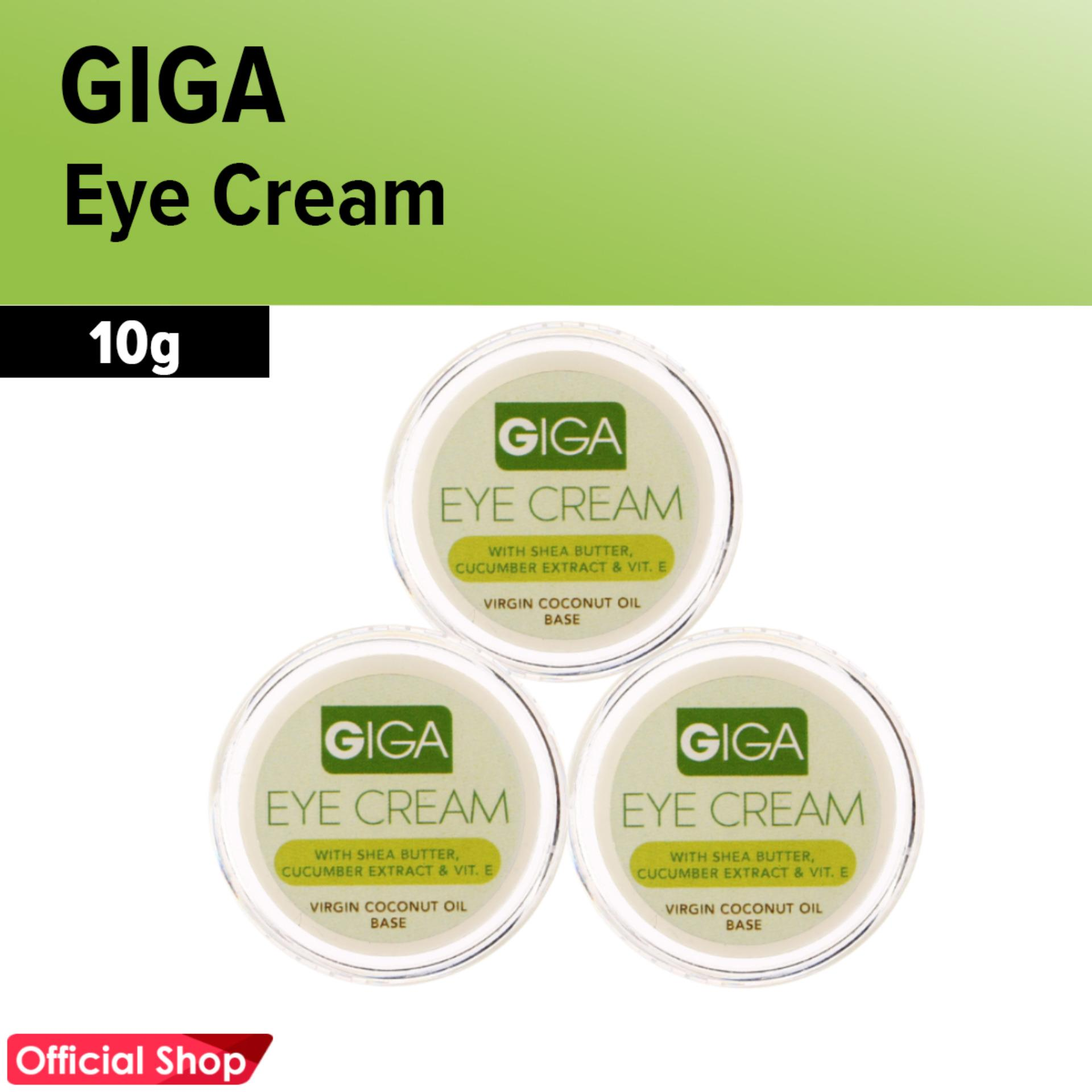 Giga All Natural and Herbal Under Eye Cream 6gms Set of 3