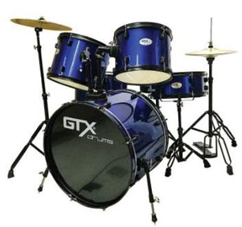 Drums For Sale >> Gtx Drum Set Blue Buy Sell Online Drum Sets With Cheap Price