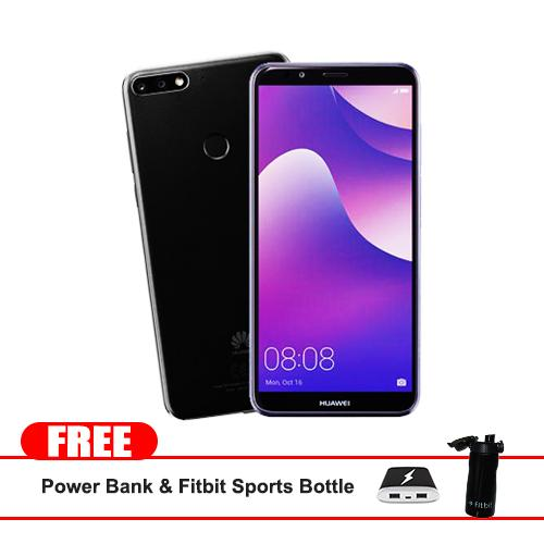 "Huawei Nova 2 Lite 32gb 5.99"" (Black) Dual Sim plus Dedicated Micro sd Slot  octa-core  1.4GHz Mobile Phone with Free Powerbank and Fitbit Sports Bottle"