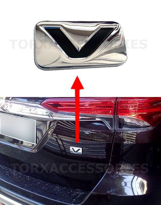 Genuine V Emblem For Toyota Fortuner Innova Hilux Lazada Ph