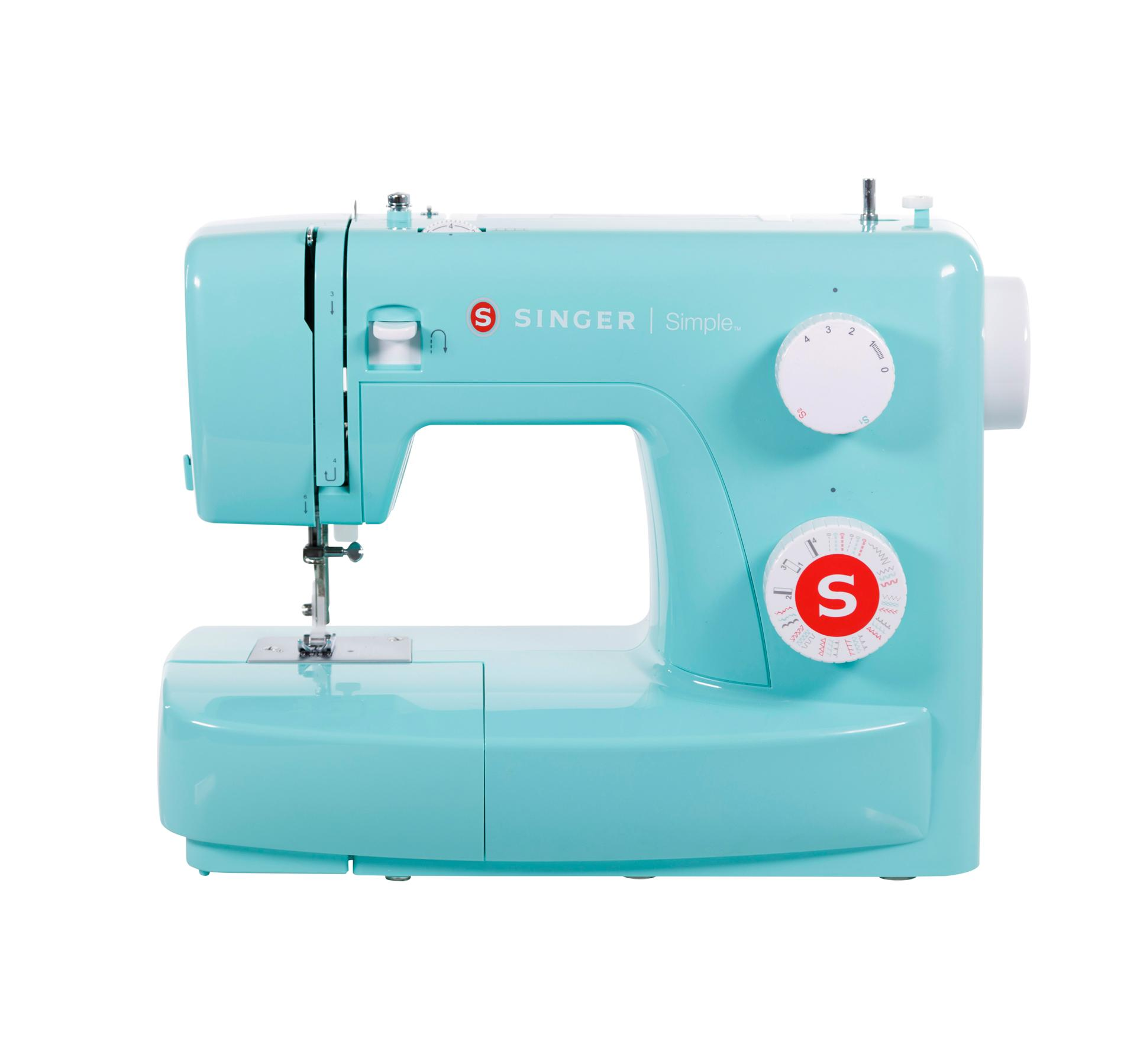 STAPLER MACHINES MACHINE FOR SEWING SINGER SIMPLE 3223 GREEN EDITION